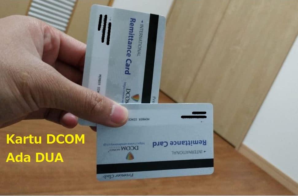 kartu DCOM ada dua